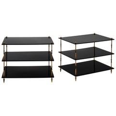 Maison Jansen Three Tiered Side Tables