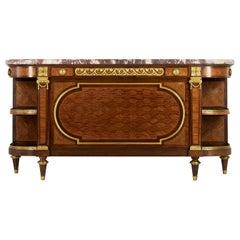 Maison Krieger, an Important 19th Century Louis XVI Style Credenza
