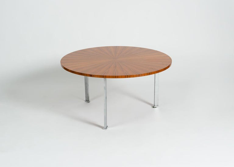 Maison Leleu, Coffee Table, France, circa 1965 In Good Condition For Sale In New York, NY
