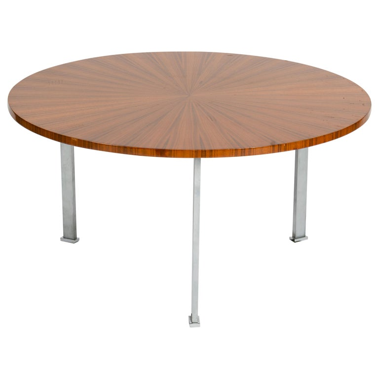 Maison Leleu, Coffee Table, France, circa 1965 For Sale
