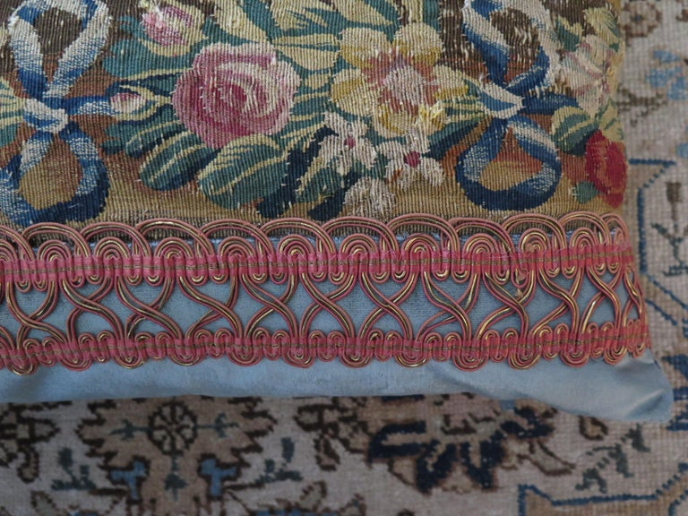 Maison Maison 18th Century Tapestry Pillow For Sale 2