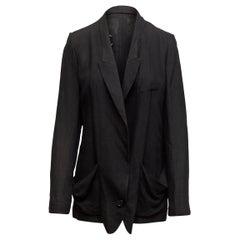 Maison Margiela Black Lightweight Blazer