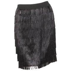 Maison Margiela Fringe Skirt