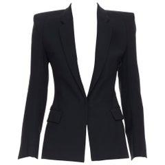 MAISON MARTIN MARGIELA AW07 square cut padded shoulder blazer jacket IT36  XS