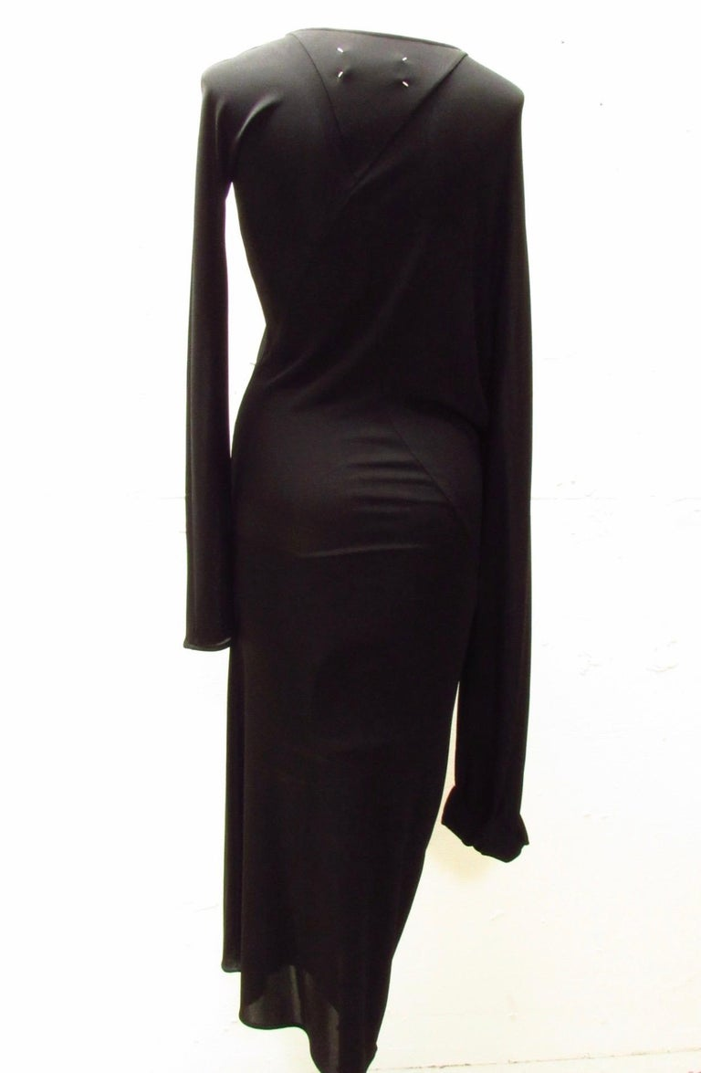Black Maison Martin Margiela Diamond Dress For Sale