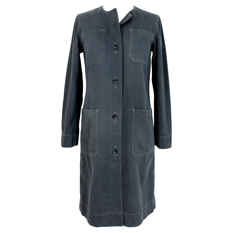 Maison Martin Margiela Gray Denim Long Jacket