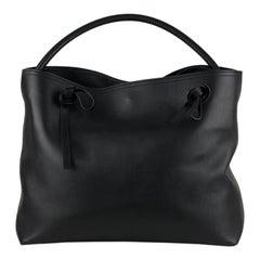 Maison Martin Margiela Line 11 Black Leather Tote Shoulder Bag