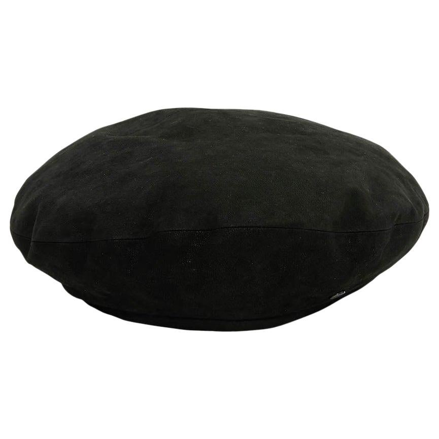 Maison Michel Suede Lamb Leather Beret