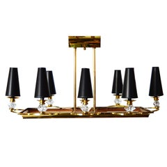 Maison Petitot Rectangular Eight Lights Chandelier