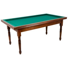 Maison Philippe Malige, Louis-Philippe Style French Billiard Table, 1950s