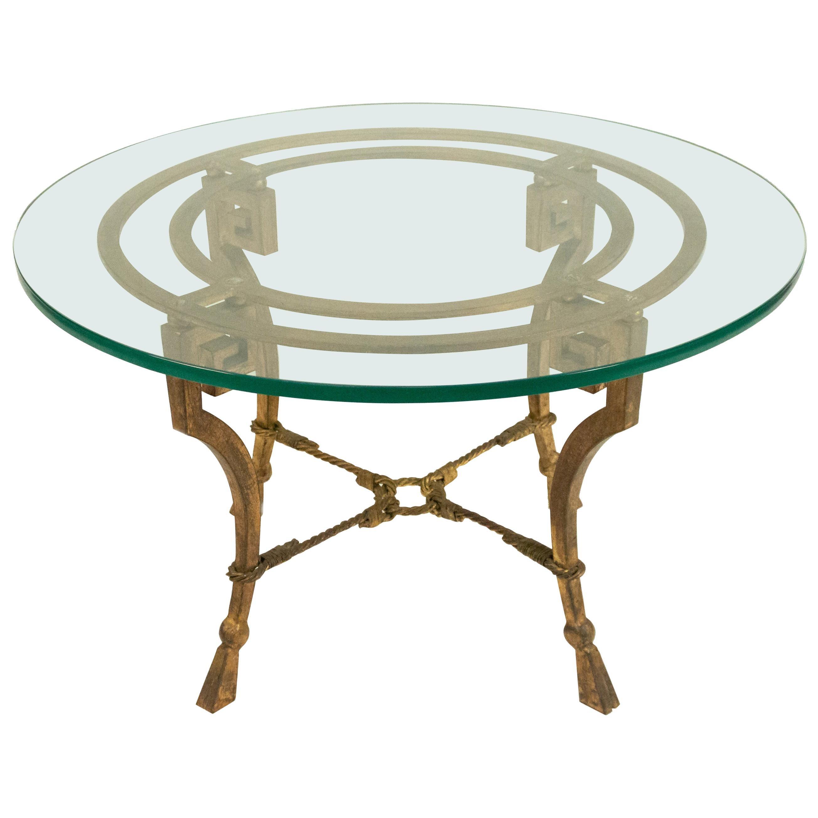 Maison Ramsay Iron Coffee Table