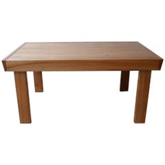 Maison Regain Elm French Midcentury Extendable Dining Table