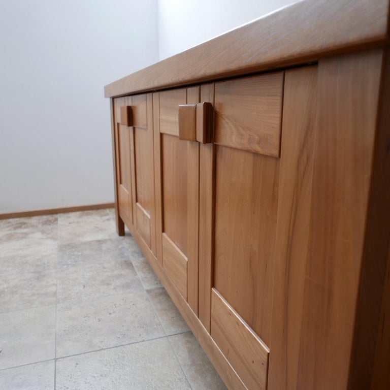Maison Regain French Midcentury Credenza or Sideboard In Good Condition For Sale In Surbiton, Surrey
