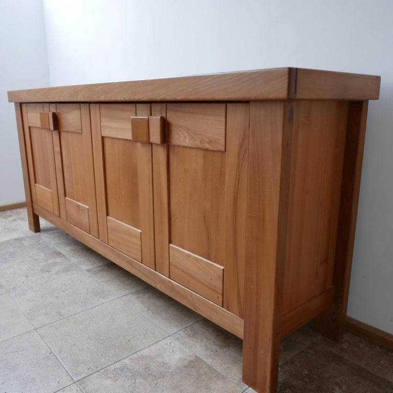 Late 20th Century Maison Regain French Midcentury Credenza or Sideboard For Sale