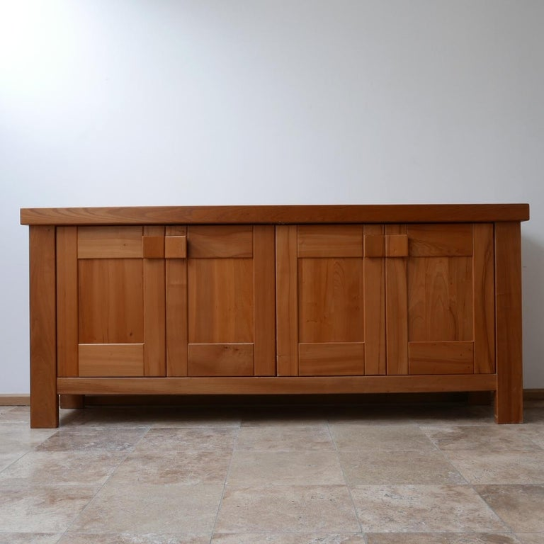 Maison Regain French Midcentury Credenza or Sideboard For Sale 3