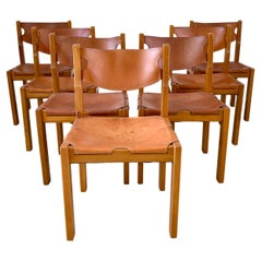 Maison Regain Leather Dining Chairs