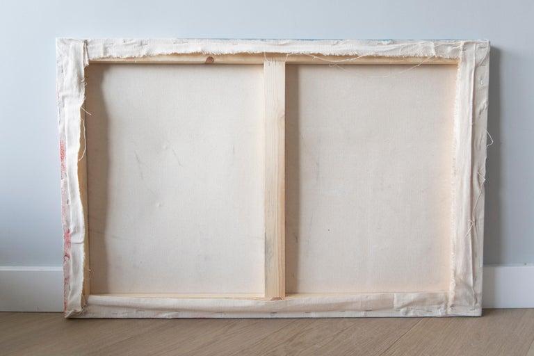 baby yoda study, Acrylic on canvas, 90cm x 60cm, 2021 For Sale 2