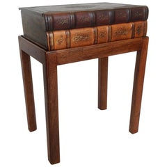 Maitland Smith Book Form Side Table