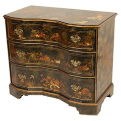 Maitland Smith Chinoiserie Decorated Chest of Drawers