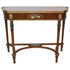Maitland, Smith Console Table Hand Painted Details