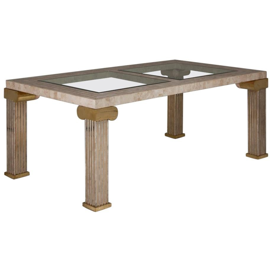 Maitland Smith Designed Dining Table, 1980s