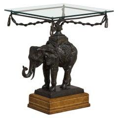Maitland Smith designed Elephant Side Table 1970s