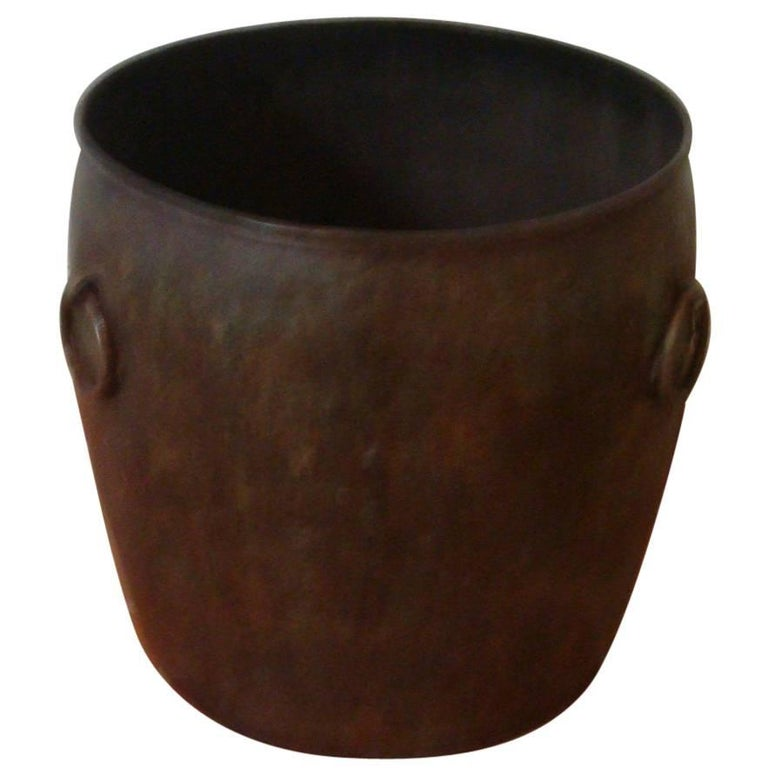 Maitland-Smith Metal Vessel For Sale
