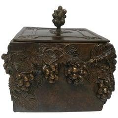 Maitland Smith Solid Bronze Box, circa 1970s