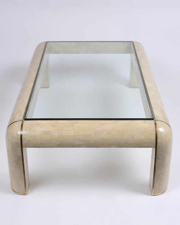 Maitland Smith Stone Coffee Table For Sale 1