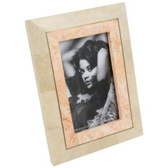 Maitland-Smith Tessellated Travertine Picture Frame