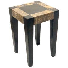 Maitland Smith Tessolated Stone Side Cocktail Table
