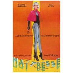 'Maîtresse' Original Vintage US One Sheet Movie Poster by Allen Jones, 1976
