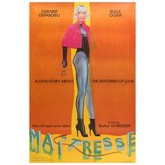 'Maîtresse' US Film Poster by Allen Jones, 1976