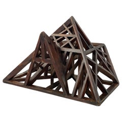 Maitrise, Architects Model of a Roof in Wood