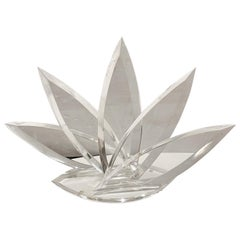 Majestic Agave Lucite Sculpture Signed by Hivo Van Teal