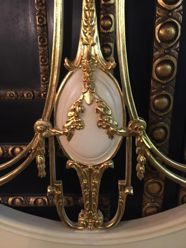Majestic Baroque Bed in the Style of Louis XVI For Sale 8
