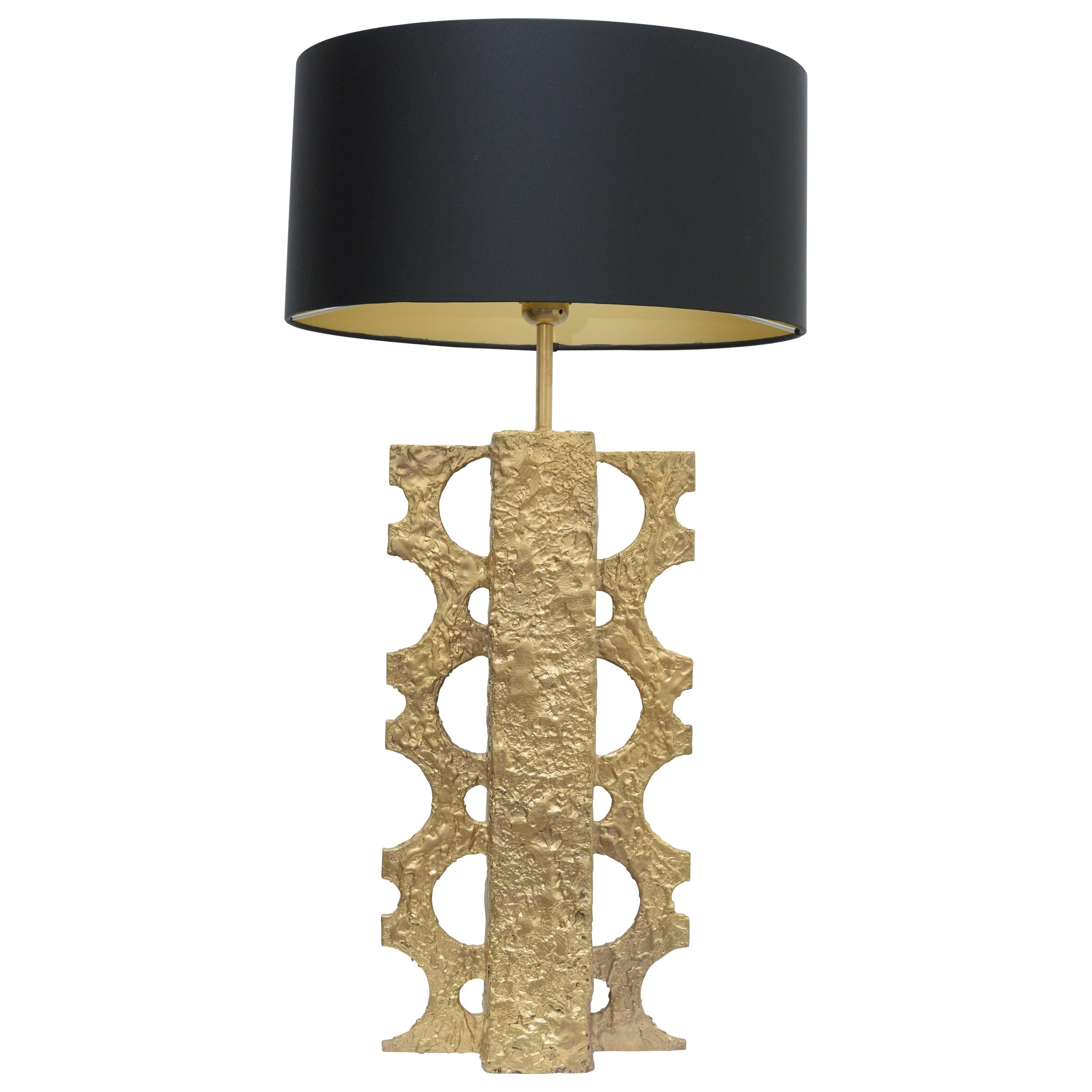 'Majestic'- One of a kind  Bronze Table Lamp
