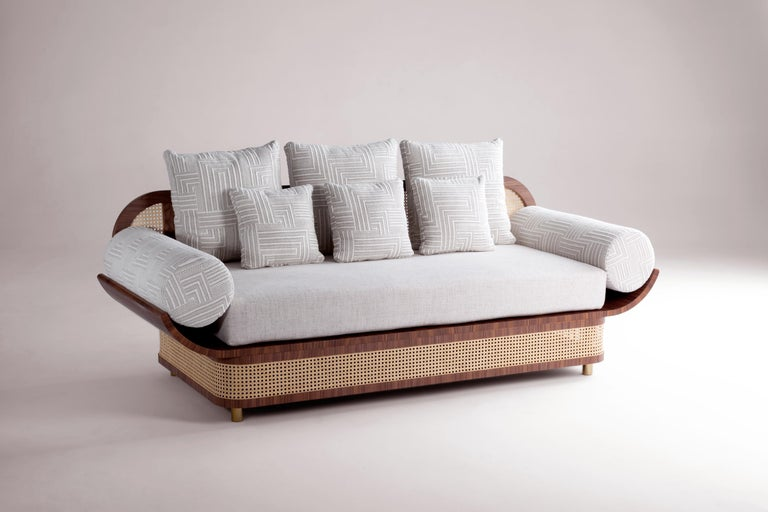 Modern Majestic Couch by Dooq For Sale