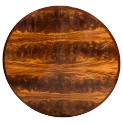 Majestic Custom Crotch Mahogany Dining Table 'Top Only'