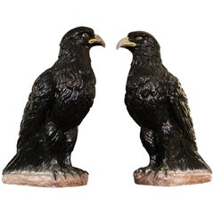 Majestic Pair of Eagles of circa 1890