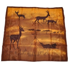 """Majestic Wildlife of Africa"" Scarf"