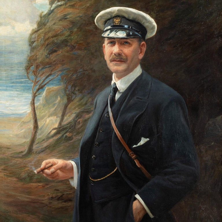 English Major R Sloane-Stanley by George Hillyard Swinstead, 1916 For Sale