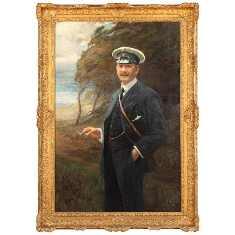 Major R Sloane-Stanley by George Hillyard Swinstead, 1916 For Sale