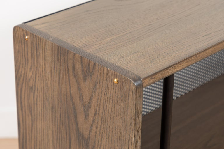 Oak Maker's Bookcase by Lawson-Fenning For Sale