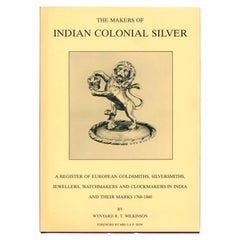 Makers of Indian Colonial Silver 'Book'