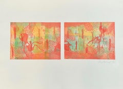 Etching Abstract Prints