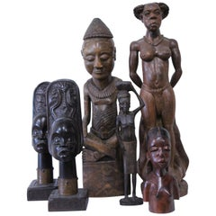 Makonde African Wood Carvings and Sculptures from Tanzania