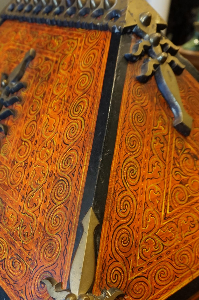 Malabar Document Safe Chest, 19th Century In Good Condition For Sale In Vancouver, British Columbia
