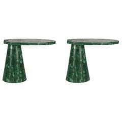 Malachite Cantilever Table