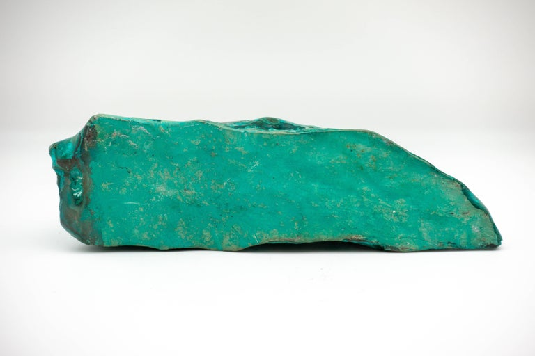 Malachite-Chrysocolla Specimen Large In Good Condition For Sale In New York, NY